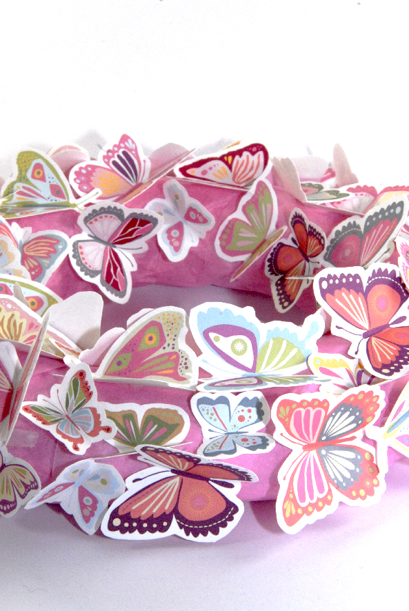 free printalble butterfly wreath 4