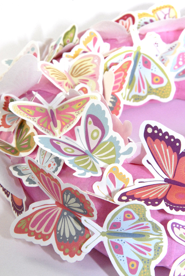 free printalble butterfly wreath 6