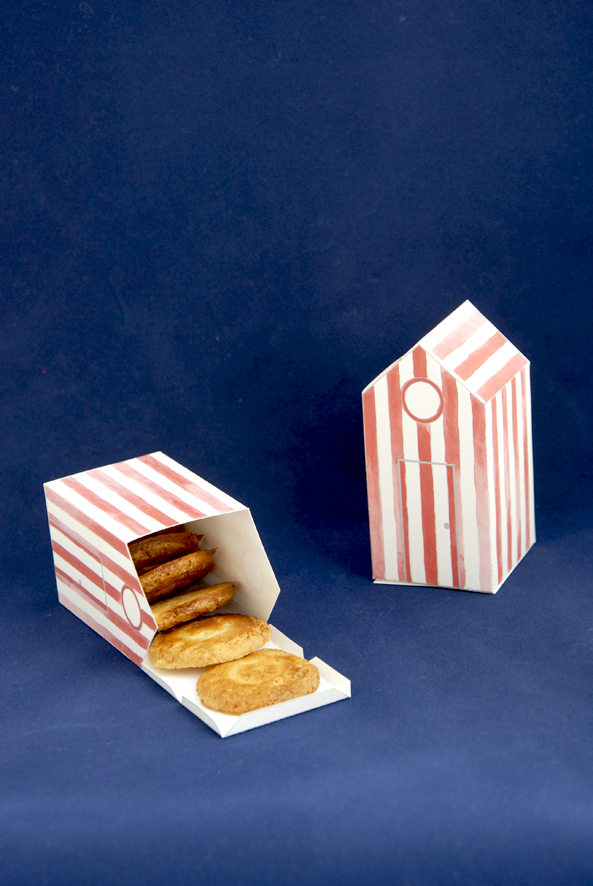 gratuit boite cabine de bain en papier à découper free printable house box