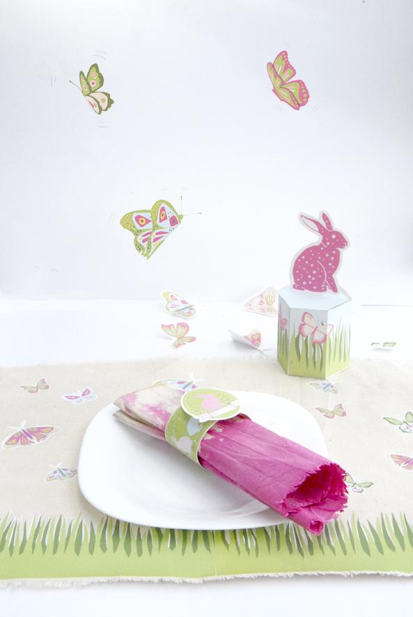 gratuit set de table pour pâques à imprimer free printable easter decoration 3