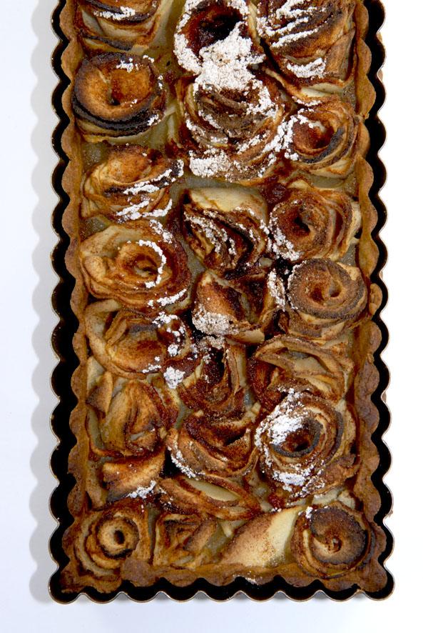 recette tarte aux pommes en forme de roses 4