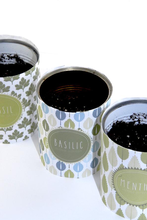 Pot boite de concerve pour aromates 3