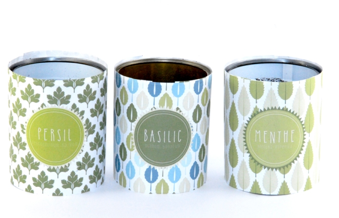 Pot boite de concerve pour aromates 4