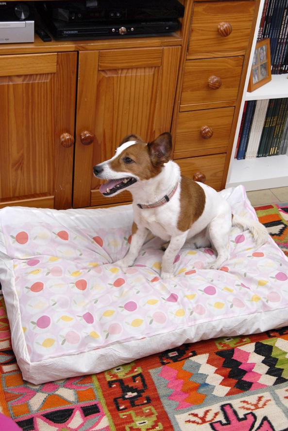 DIY une housse pour panier de chien 6