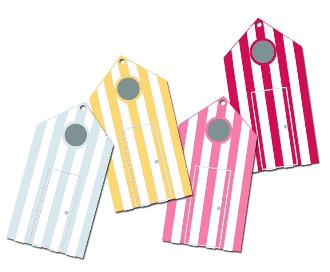 free printable tags etiquettes gratuites à imprimer  cabines de bain