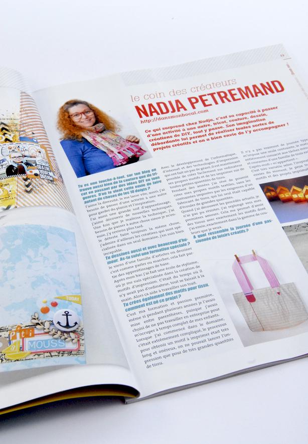 magazine esprit scrapbooking interview 1
