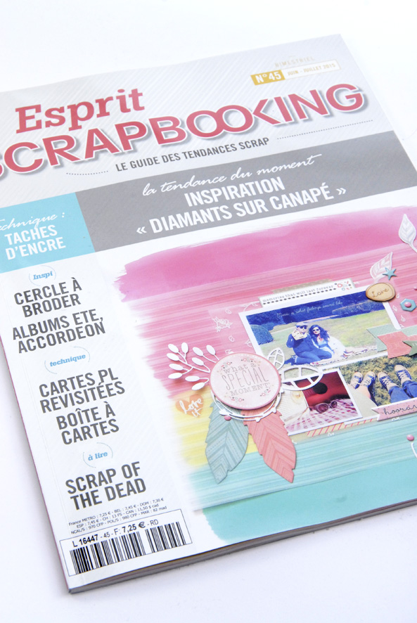 magazine esprit scrapbooking interview 2