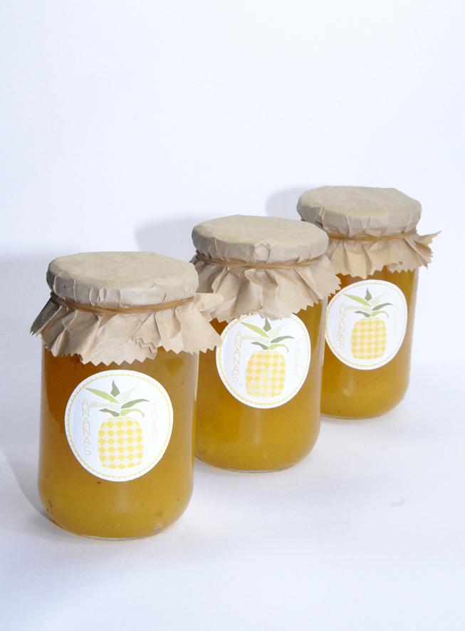recette confiture d'ananas