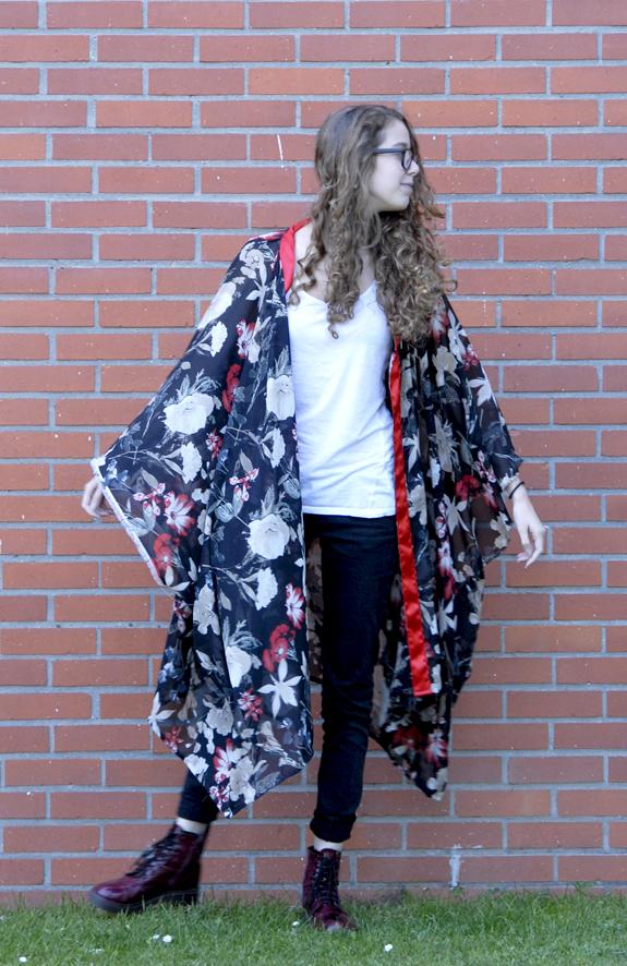 tuto kimono en mousseline 10