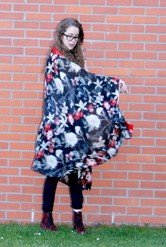 tuto kimono en mousseline 14