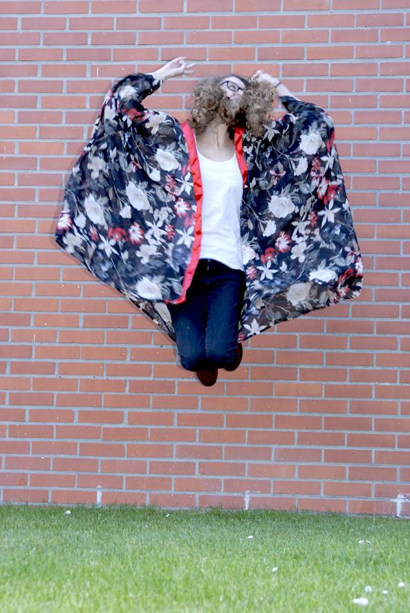 tuto kimono en mousseline 8