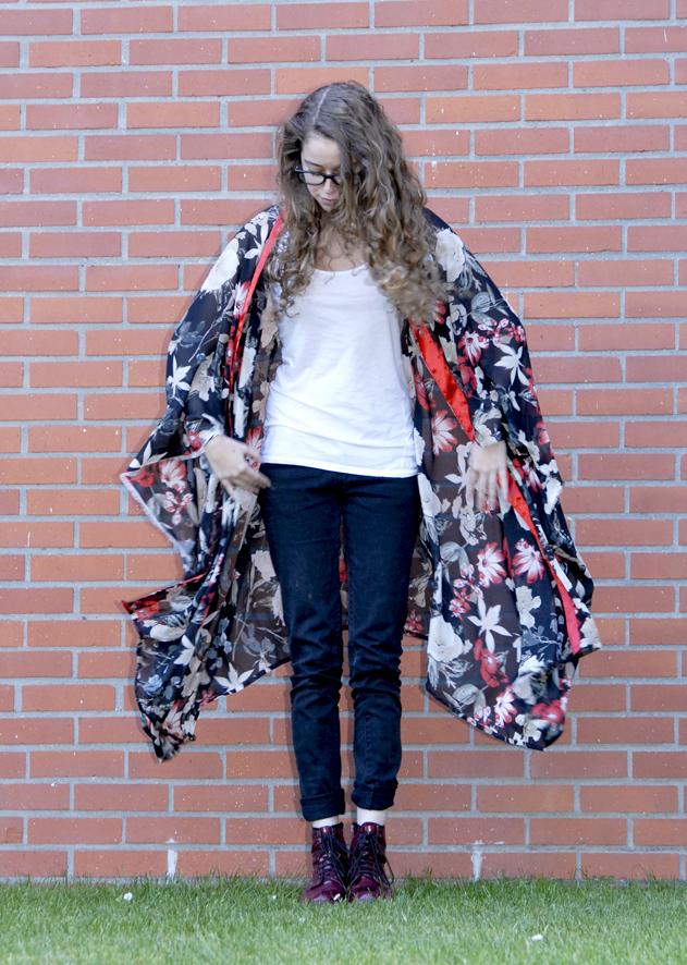 tuto kimono en mousseline 9