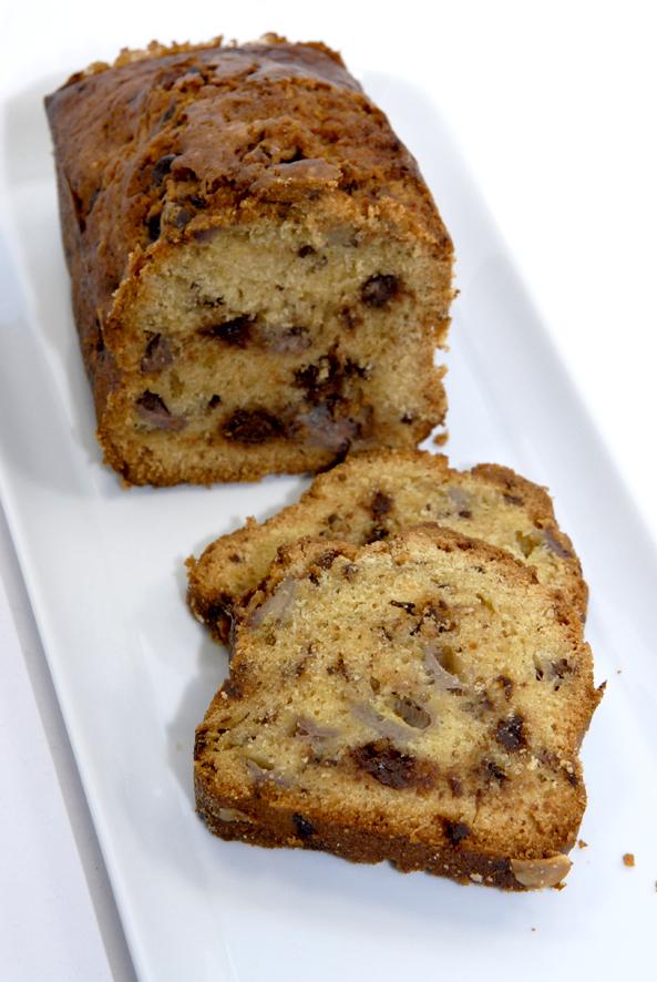 cake à la banane et chocolat au lait 3