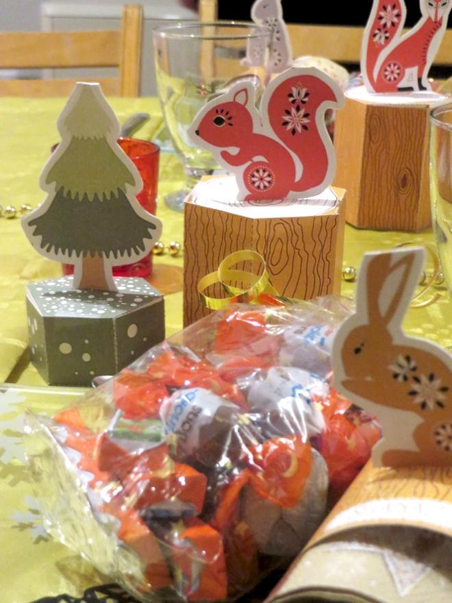 free printable christmas box gratuits boite de noël à imprimer animaux 7