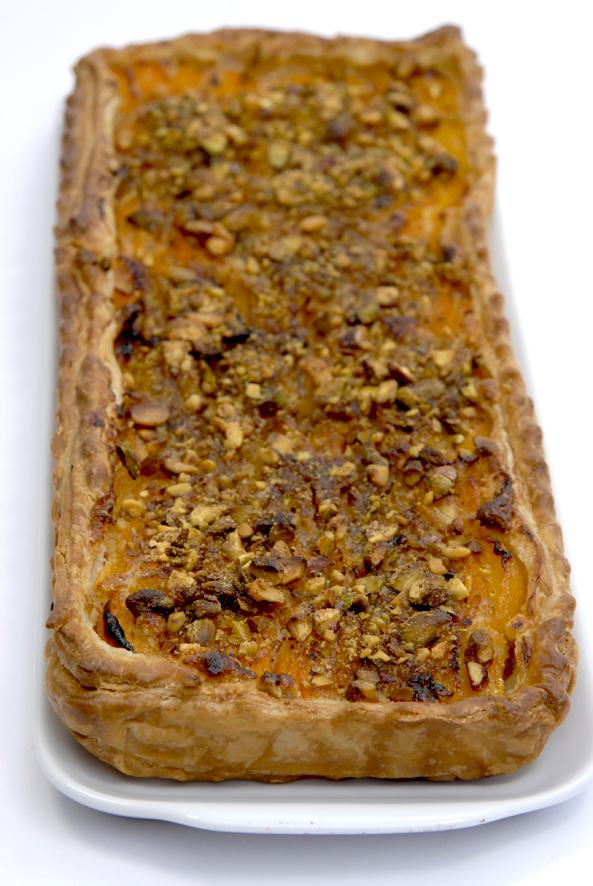 recette tarte aux abricots et aux pistaches 1