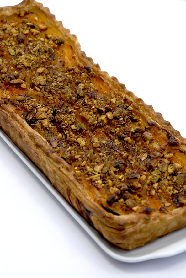 recette tarte aux abricots et aux pistaches 2