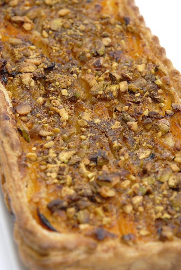 recette tarte aux abricots et aux pistaches 3