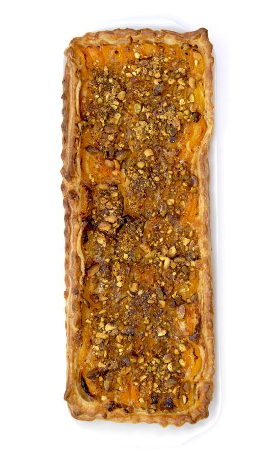recette tarte aux abricots et aux pistaches 5