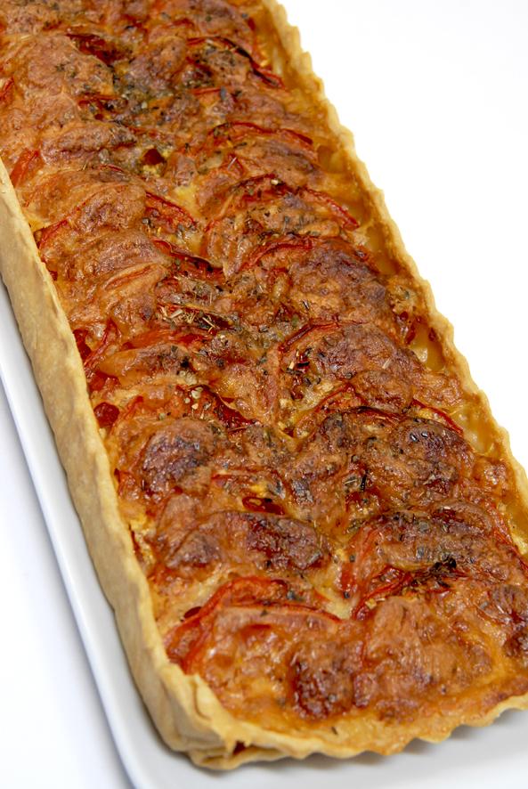 tarte à la tomate recette 2