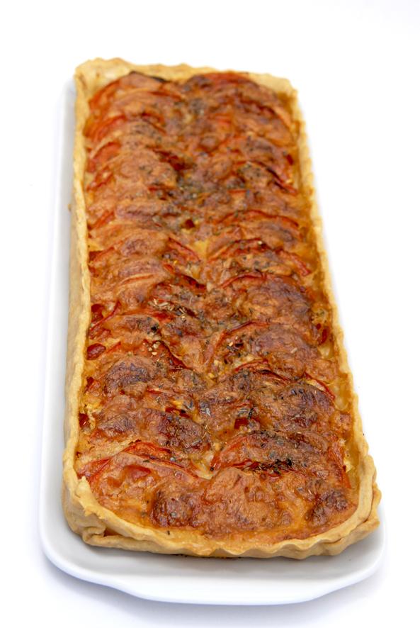 tarte à la tomate recette 3
