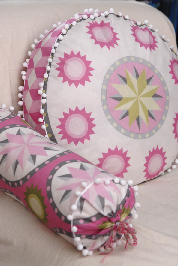 tissu collection carreau de ciment cut and sew pillow 1