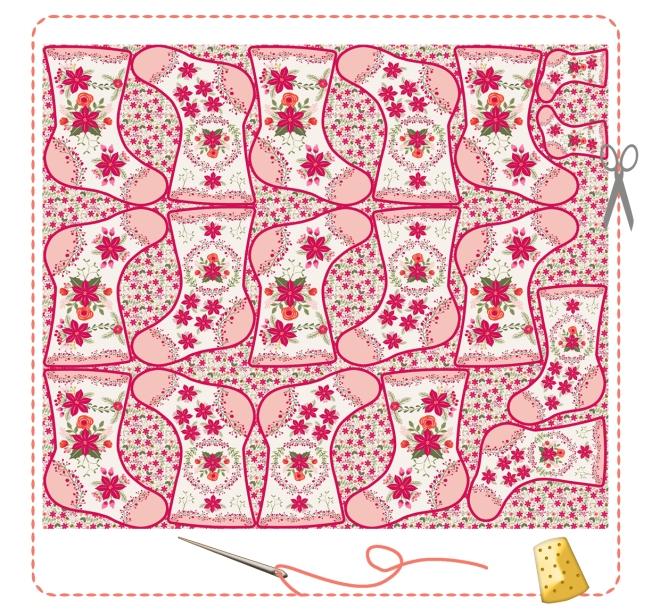 bottes-de-noel-kit-a-coudre-motif-poinsettia-bordure-mini-pompon-7