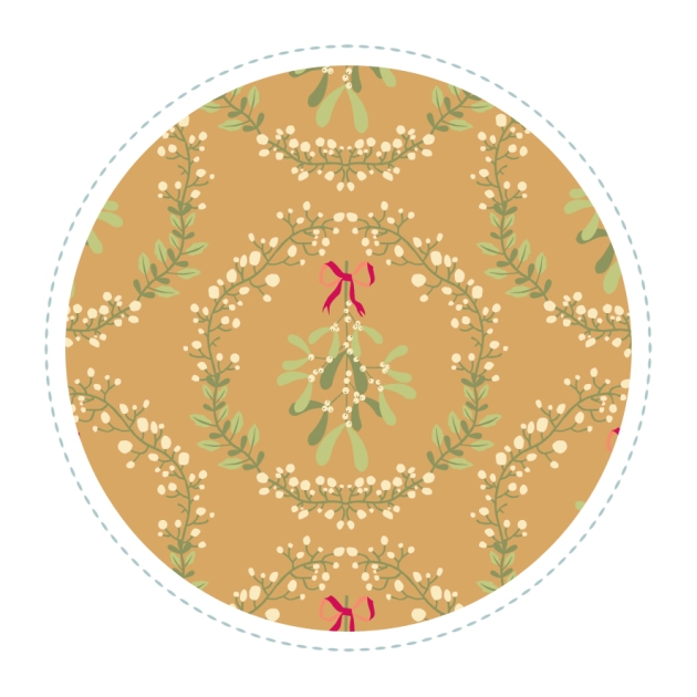 motif-gui-couronne-fond-brun