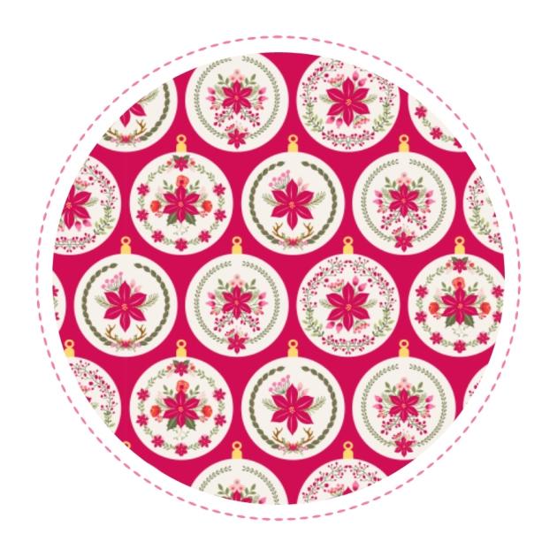 gratuit-papier-cadeau-a4-motif-poinsettia-free-printable-christmas-wrap-boule