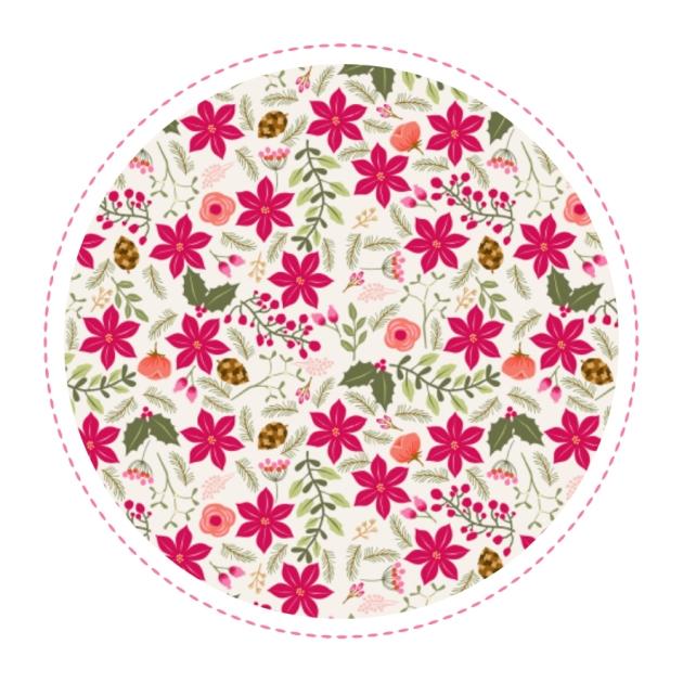 gratuit-papier-cadeau-a4-motif-poinsettia-free-printable-christmas-wrap