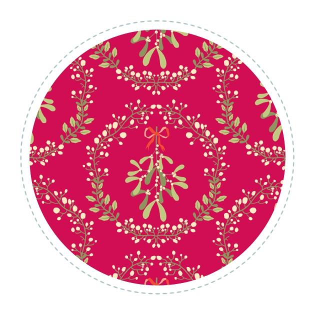 motif-gui-couronne-fond-rouge