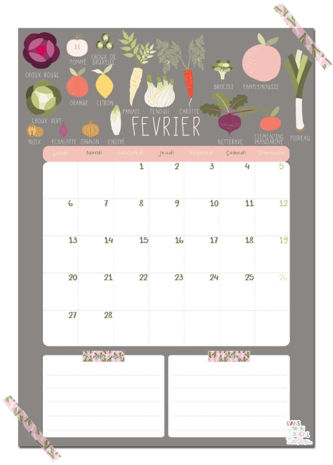 gratuit-calendrier-fevrier-free-printable-calendar-illustration