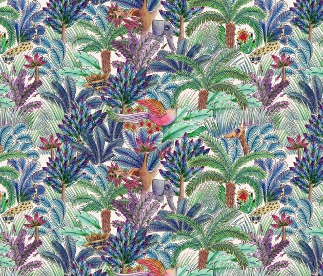 tissu-motif-jungle