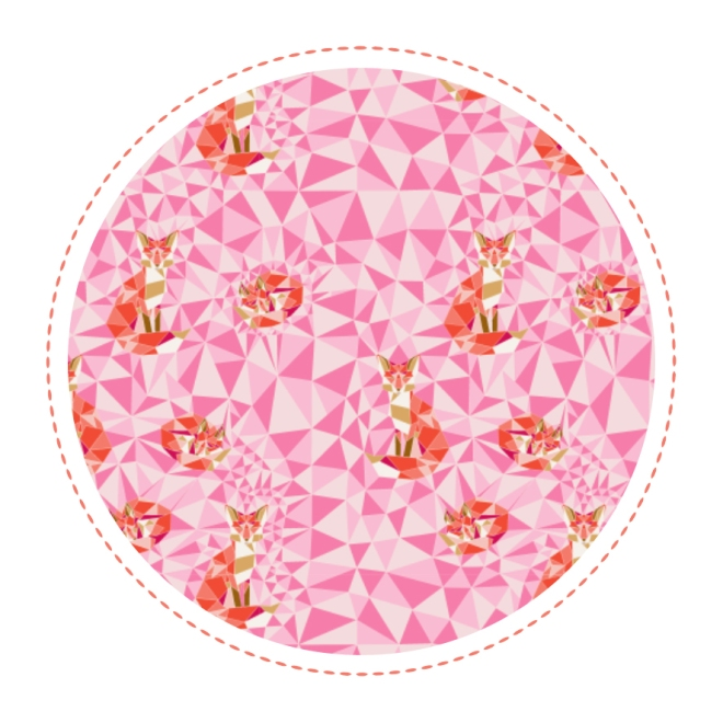 free-printable-pattern-fox-geodesic-pink