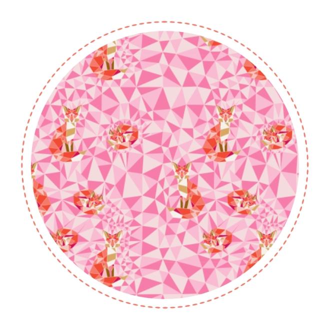 free-printable-pattern-fox-geodesic-pink