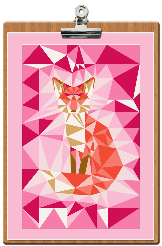 free-printable-poster-fox-geodesic